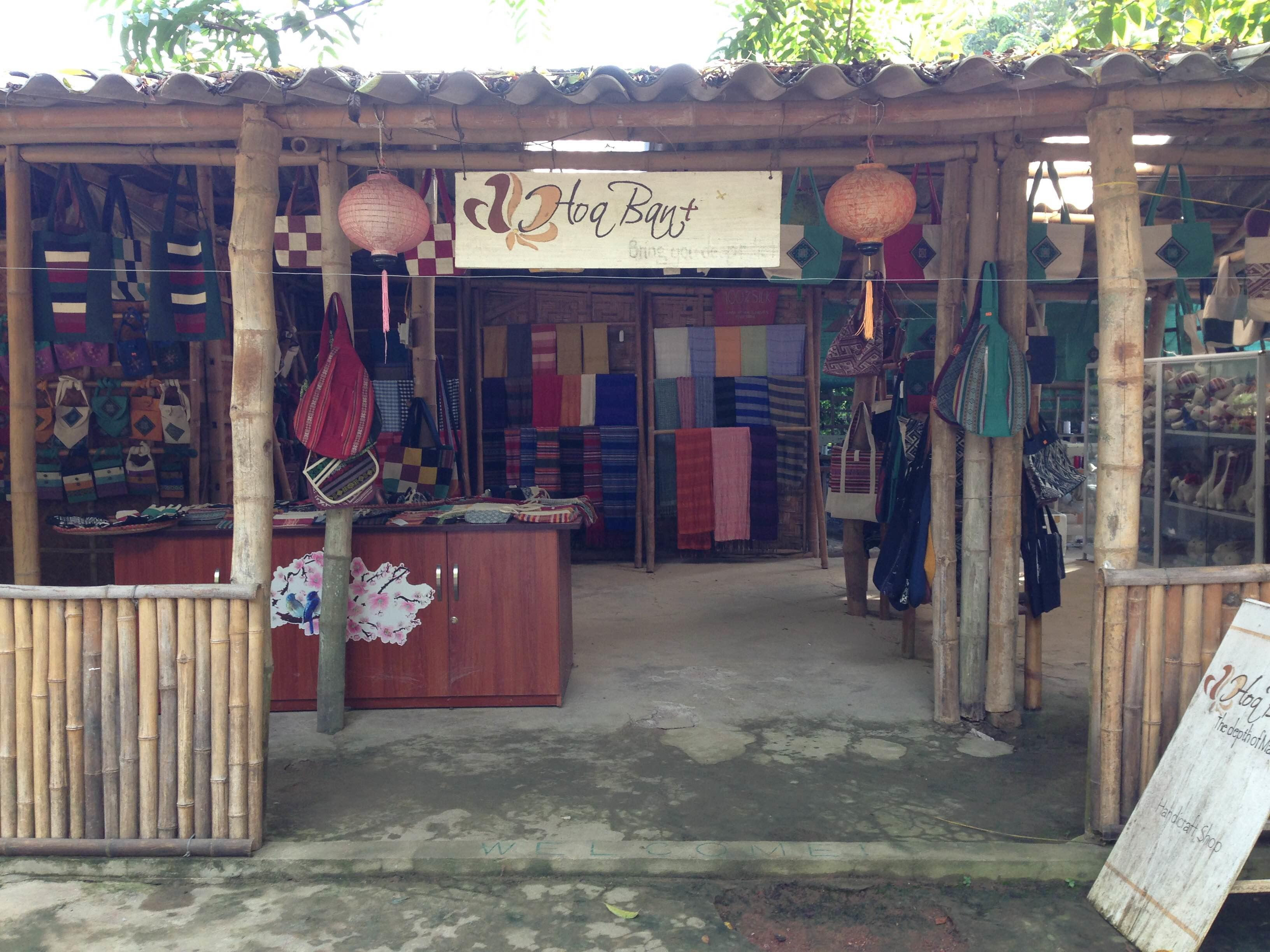 A local shop in Mai Chau Village where Projects Abroad Interns will be placed during their Business Work Experience in Vietnam.